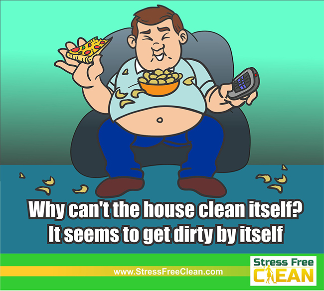Why Doesn't The House Clean Itself?